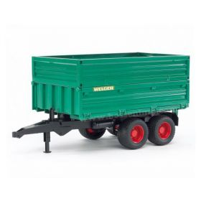 1/16 Dump Wagon, Plastic