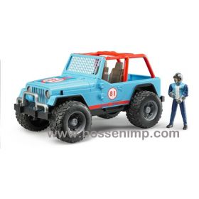 1/16 Jeep CJ Cross Country Racer blue