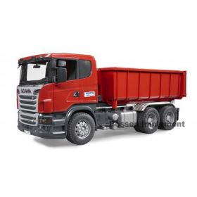 1/16 Scania R-Series Roll off Container Truck