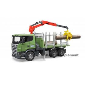 1/16 Scania R-Series Log Truck w/Crane & Logs