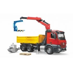 1/16 Mercedes Benz Actros Construction Truck with accessories