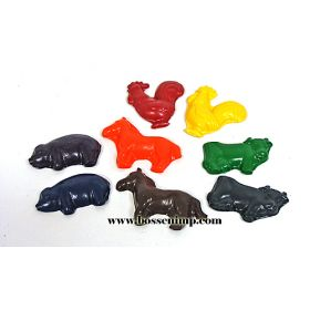 Farm animal Crayons- Non-Toxic