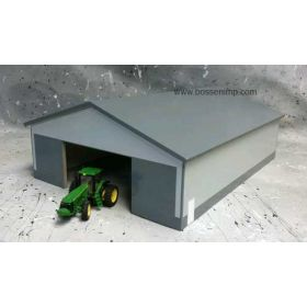 1/64 Machine Shed 60 X 80 Dark Gray & Gray