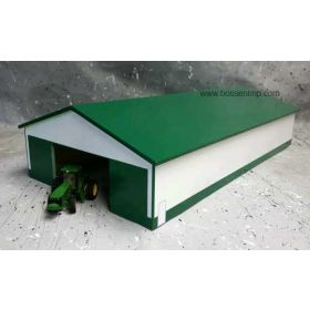 1/64 Machine Shed 60 X 120 Green & White