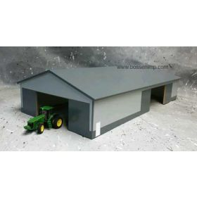 1/64 Machine Shed 60 X 120 Dark Gary & Gray