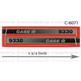 Decal 1/32 Case IH 9330 4WD Side Panels