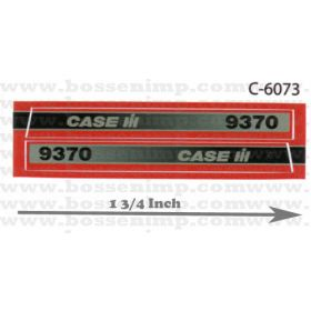 Decal 1/32 Case IH 9370 4WD Side Panels