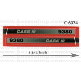 Decal 1/32 Case IH 9380 4WD Side Panels