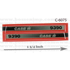 Decal 1/32 Case IH 9390 4WD Side Panels