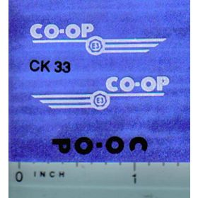 Decal 1/16 CO-OP E-3 Set