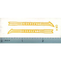 Decal 1/16 Cockshutt Stripe (yellow)