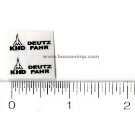 Decal 1/16 Deutz Fahr