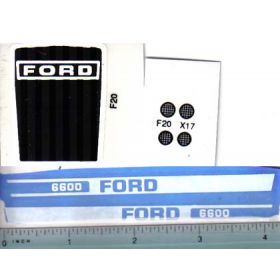 Decal 1/12 Ford 6600 set