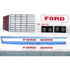 Decal 1/12 Ford 8000 Set (small)