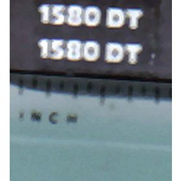 Decal 1/32 Hesston 1580DT Model #