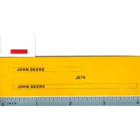 Decal 1/16 John Deere Forage Harvester Side Panels for Ertl 590 Pull T