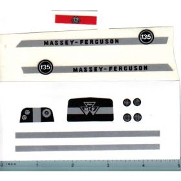 Decal 1/16 Massey Ferguosn 135 Complete Set