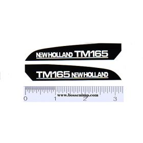 Decal 1/16 New Holland TM165 Hood Panels