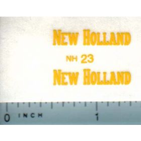 Decal 1/16 New Holland (tall, small)