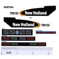 Decal 1/16 New Holland TM-155 Set