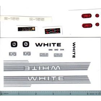 Decal 1/16 White 2-155 Set