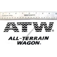 Decal Radio Flyer ATW All-Terrain Wagon