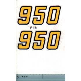Decal 1/16 Versatile 950 Series 2 Mo. # (early)