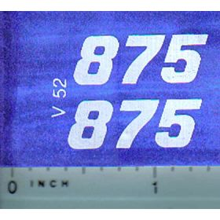 Decal 1/16 Versatile 875 Series 3 Mo. #