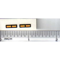 Decal 1/16 IH 66 Series Lamps - Amber, Black
