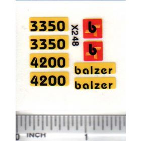 Decal 1/64 Balzer 3350, 4200 Set