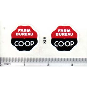 Decal Farm Bureau Co-op - Round