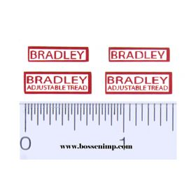 Decal 1/16 Bradley Set (Pairs)