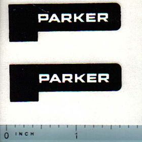Decal 1/16 Parker Logo