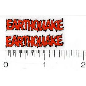 Decal 1/16 Earthquake (Orange)