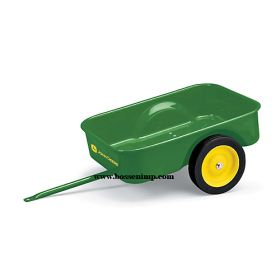 Pedal Trailer John Deere with JD Graphics, steel