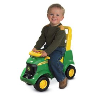 John Deere Foot-to-Floor Activity Tractor w/sounds and Figures
