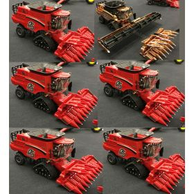 1/64 Case IH Combine with tracks '17 Farm Show & 175th Ann. Case of 6