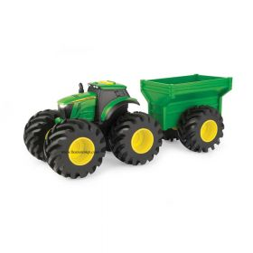 """8"""" Monster Treads John Deere Tractor with wagon"""