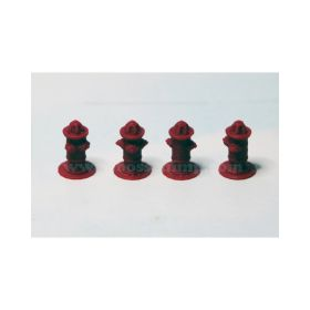 1/64 Fire Hydrants Set of 4