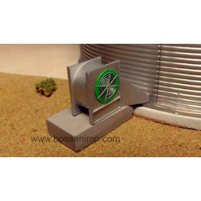 1/64 Grain Bin Centrifugal Fan Kit 3D printed