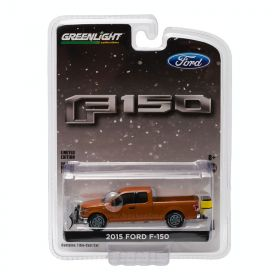 1/64 Ford F-150 pickup 2015 with snow plow & salt spreader