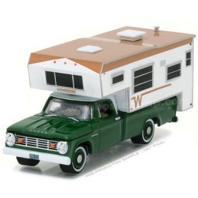 1/64 Dodge Pickup D-100 1967 with Winnebago Slide-in Camper