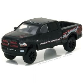 1/64 Dodge Pickup RAM Power Wagon Matte Black