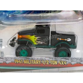 1/64 Dodge Pickup 4WD 1941 Military Chase Unit