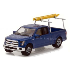 1/64 Ford F-150 Pickup 2015 with Ladder Rack Series 3