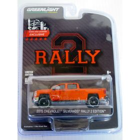 1/64 Chevy Silverado 2015 Rally with Lift Kit