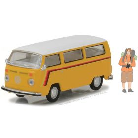 1/64 Volkswagen Bus 1975 w/ Backpacker Figure