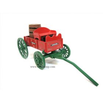 1/25 Buckboard Wagon with Barrel Bank Viscosity Oil Co