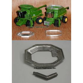 1/64 Combine Bin Extension JD 7720 or MF 8590 unpainted