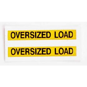 Decal 1/64 Oversized Load Sign Decals